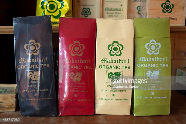 Different types of tea are available for sale at Makaibari tea factory Set up in 1859 off Kurseong in the Darjeeling hills the Makaibari estate is...