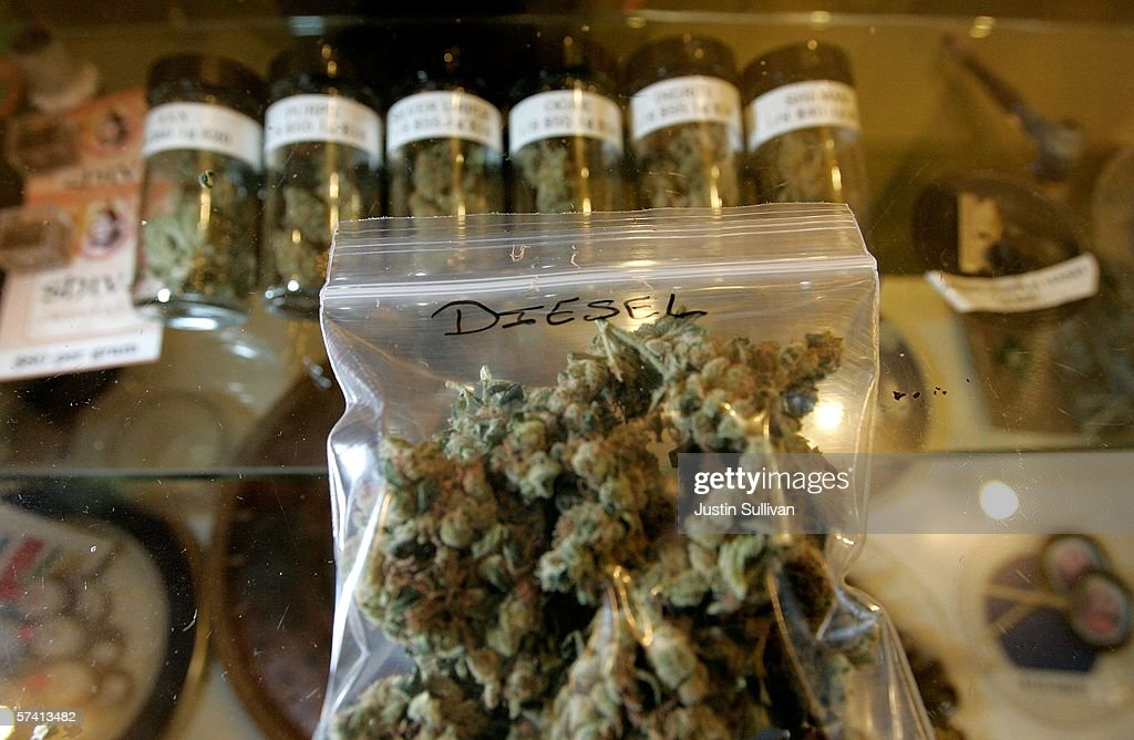 Different varieties of medical marijuana are seen at the Alternative Herbal Health Services cannabis dispensary April 24, 2006 in San Francisco, California. The Food and Drug Administration issued a statement last week rejecting the use of medical marijuana declaring that there is no scientific evidence supporting use of the drug for medical treatment.