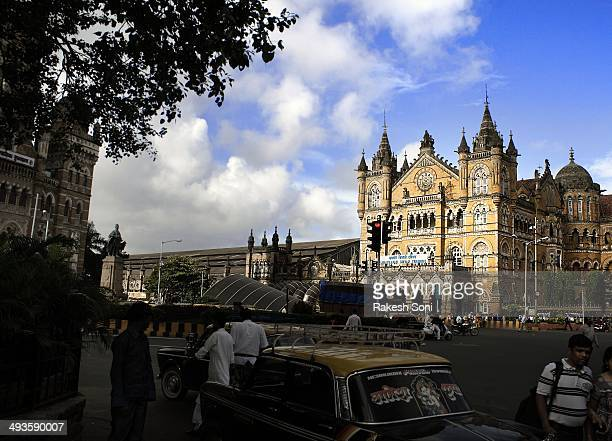 CONTENT] A different view of Chhatrapati Shivaji Terminus Mumbaigothic architecture