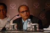 Digambar Kamat Chief Minister of Goa at India Today State of States Conclave in New Delhi India on dated 14 september 2007