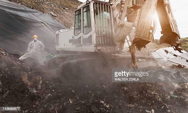 Digger al centro di garbage collection