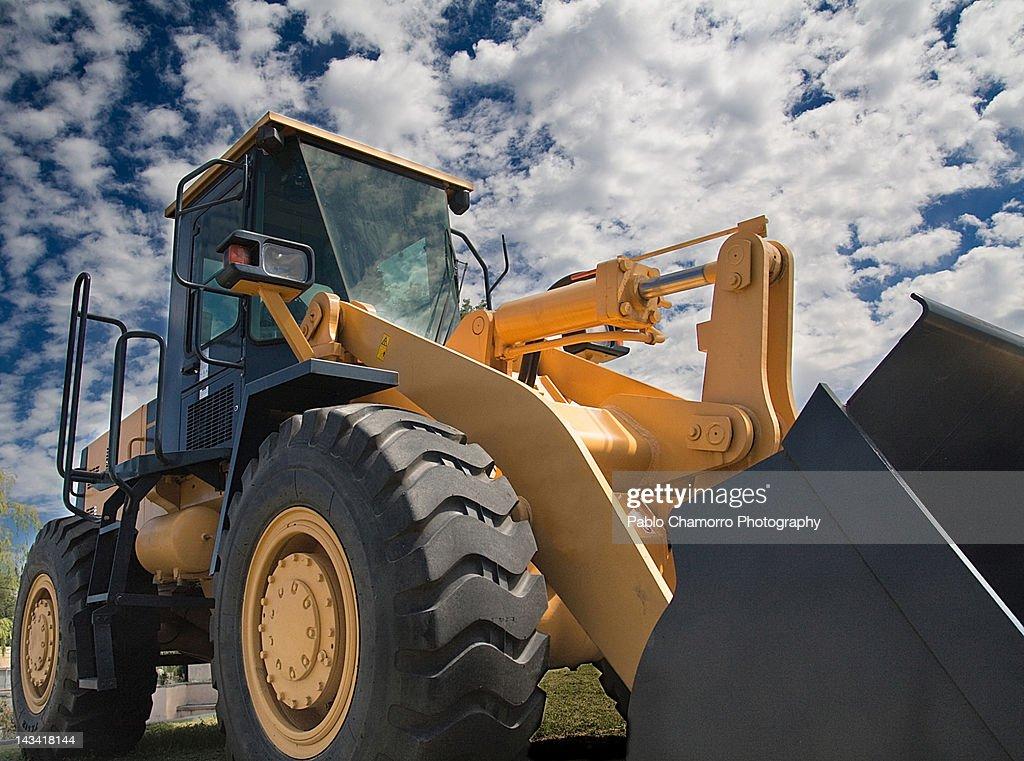 Digger machine : Stock Photo