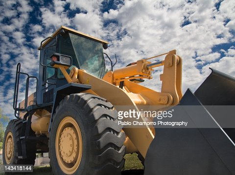 Digger machine : Foto de stock