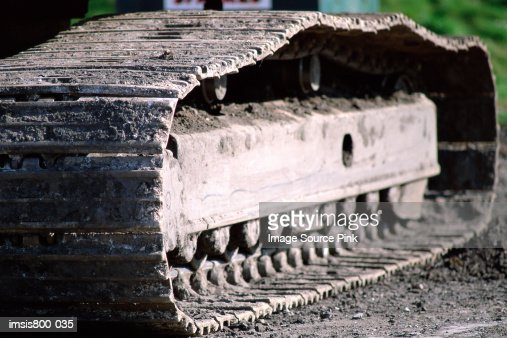 Digger track : Foto stock