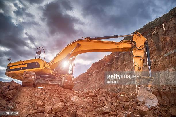 Dell'escavatore Scavare