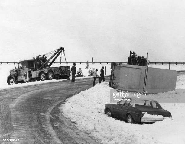 Digging Out From The Area's First Big Winter Snowstorm Tow trucks were among the more popular vehicles when a vigorous winter storm struck the Denver...