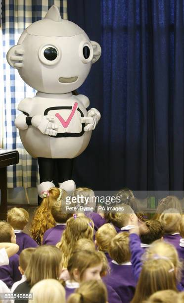 Digit Al at Jerico Primary School Whitehaven during the switchover from analogue to digital television The Cumbrian town is the first in the UK to be...