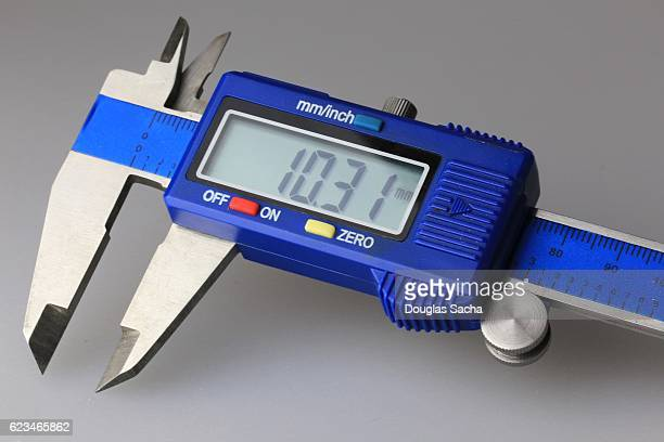 Digital Caliper used in Industrial Quality Control