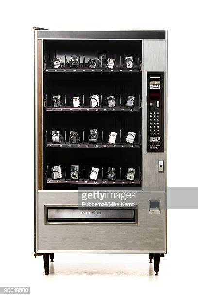 digital cameras in a vending machine