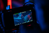 Digital Cinema Camera On set