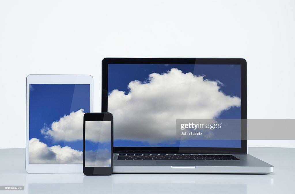 Digital cloud : Stock Photo