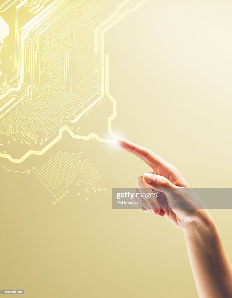 Digital Connection : Stock Photo