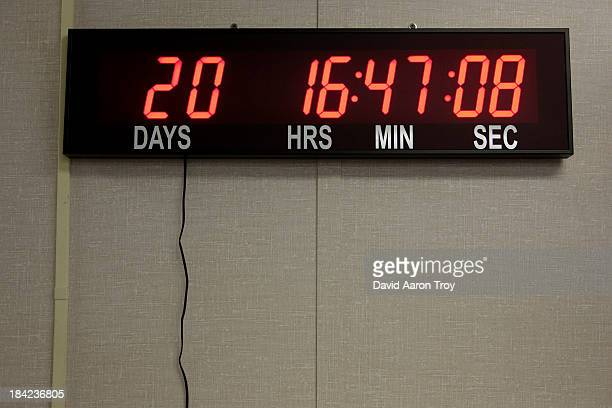 Digital countdown
