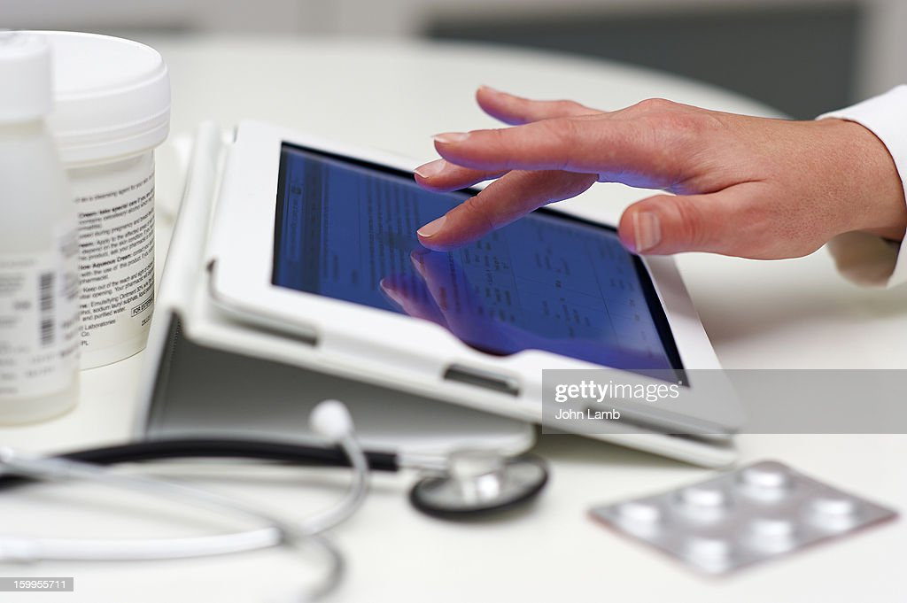 Digital doctor : Stock Photo