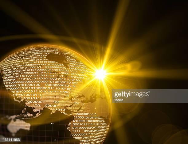 Digital Earth-World Map