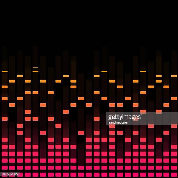 Digital equalizer-Violett