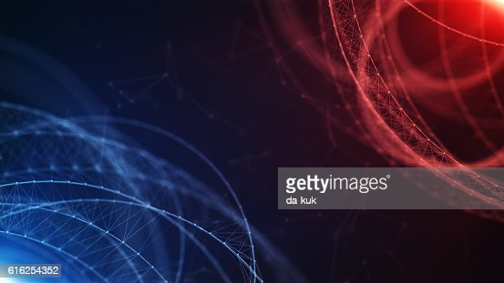 Digital Formation Futuristic Background : Foto de stock