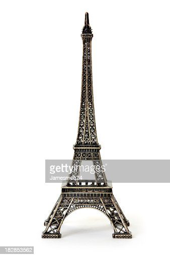 A digital illustration of the Eiffel Tower