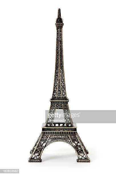 A digital illustration of the Eiffel Tower