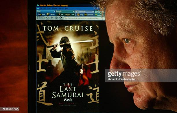 Digital Image taken on Thursday 8/21/2003 Van Nuys CA –– Dewey Gram a novelizer of films who did among others Gladiator and the upcoming Last Samurai...