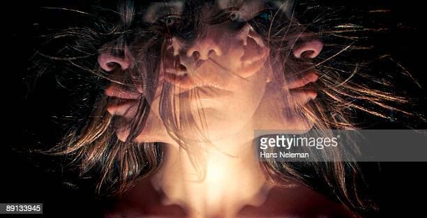 Digital manipulation of a young woman's image