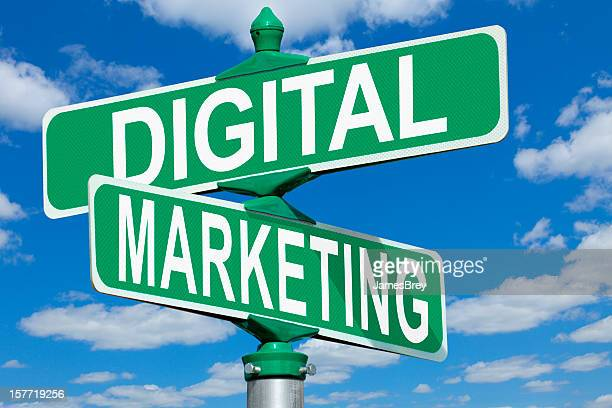 Digital Marketing Street Sign