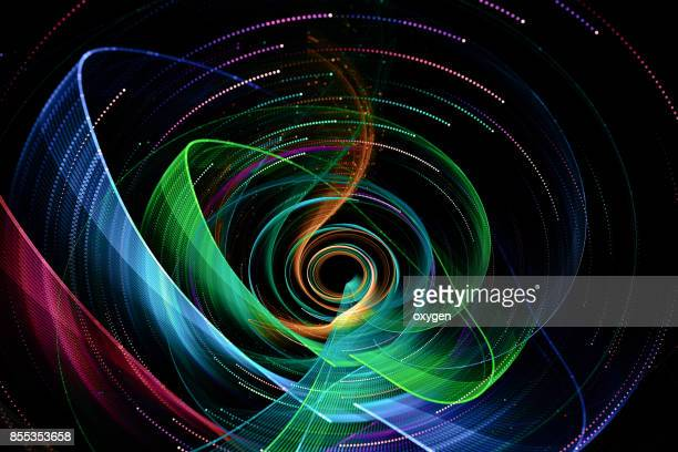 Digital multicolor art abstract composition suitable for background