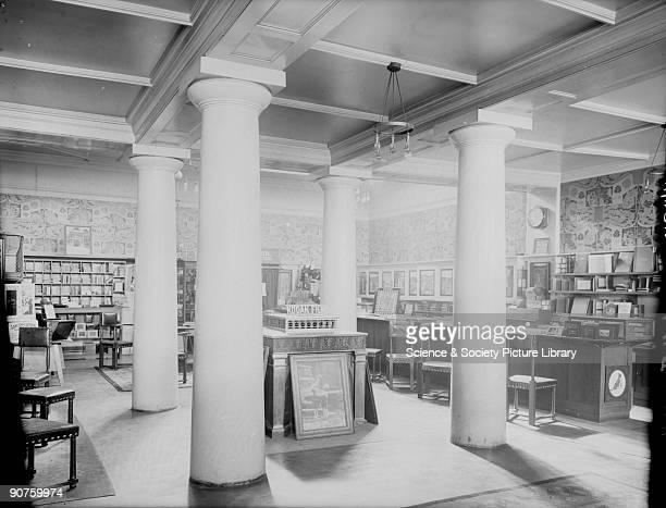 Digital positive from a glass negative of a Kodak shop interior designed by George Walton at 171173 Regent St London
