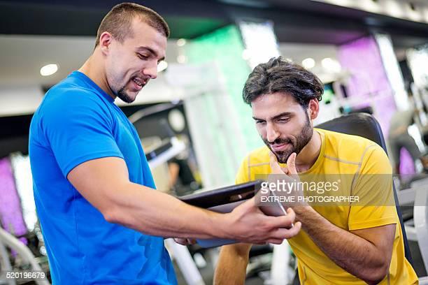 Digital presentation in the gym