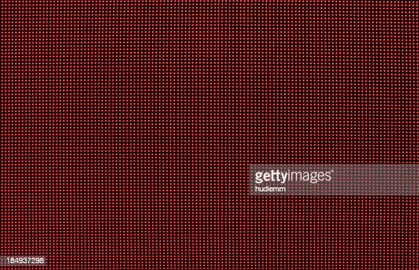 Digital red LED screen background