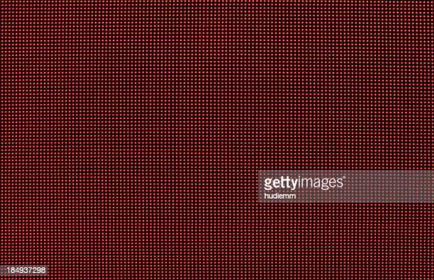 Ecrã LED vermelho fundo Digital