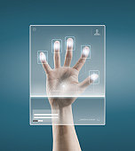 Digital scan of a Hand