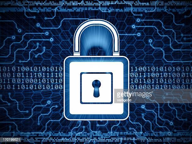concept de sécurité numérique