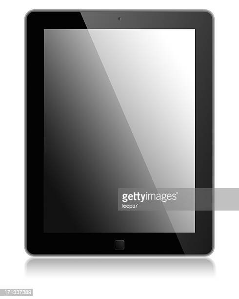 Digital tablet with clipping path