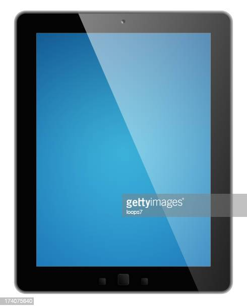Digital tablet with clipping paths