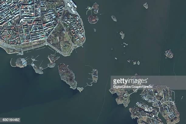 DigitalGlobe satellite imagery of Helsinki Finland