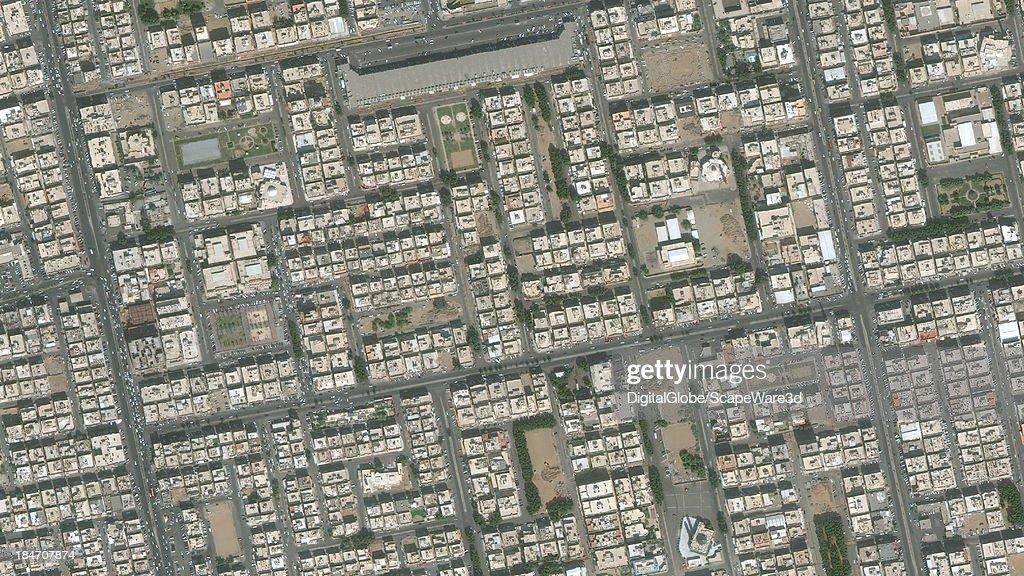 DigitalGlobe Satellite Imagery of the al-Safa district, Jeddah, Saudi Arabia.