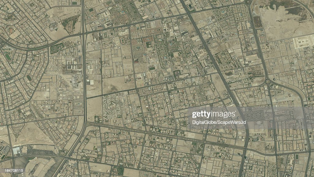 DigitalGlobe Satellite Imagery of the Oasis Compound, Khobar, Saudi Arabia.