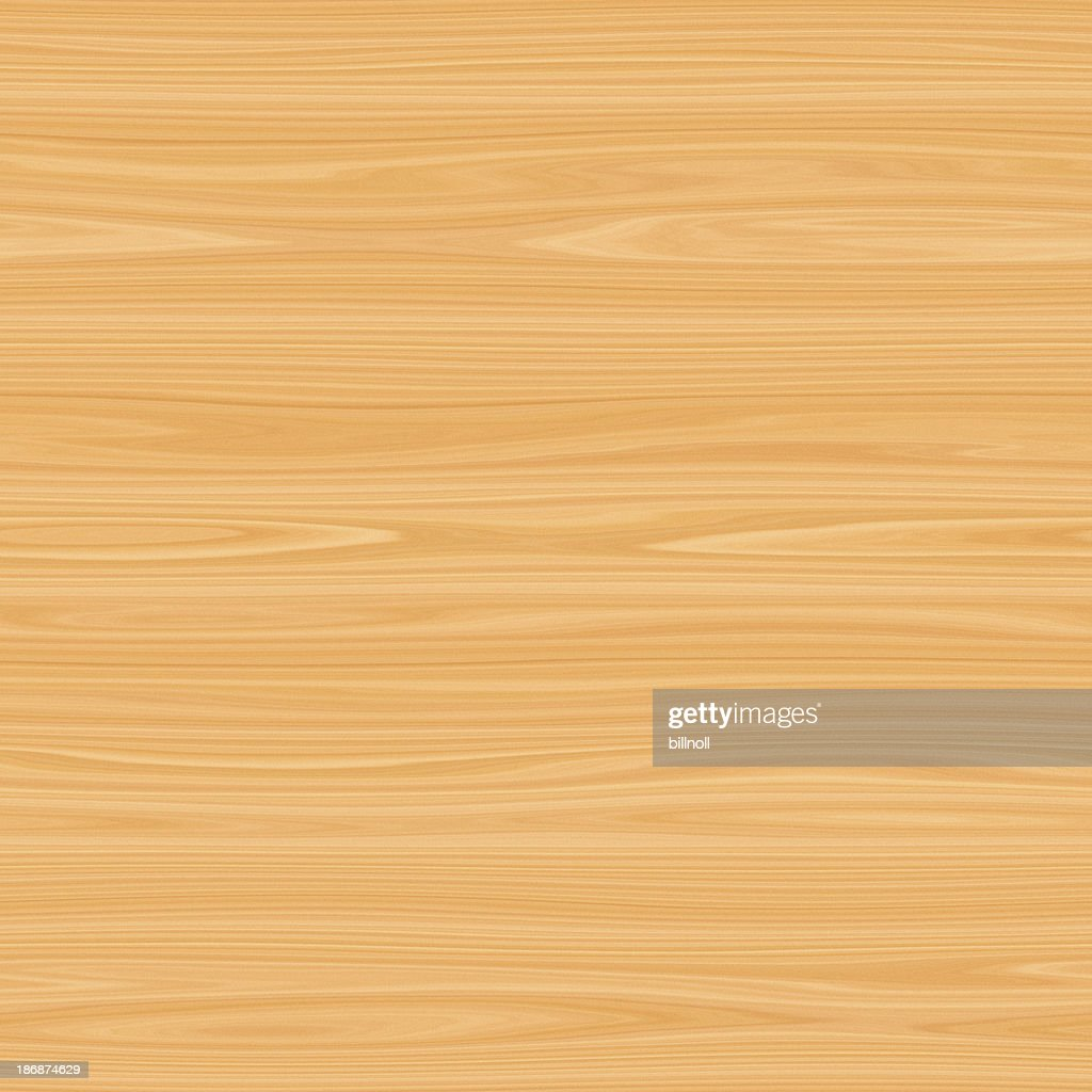 Digitally generated seamless blonde wood texture
