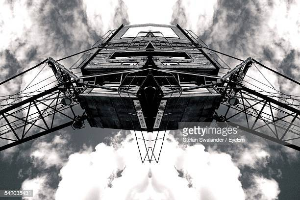 Digitally Manipulated Image Of Built Structure, Upward Symmetrical View
