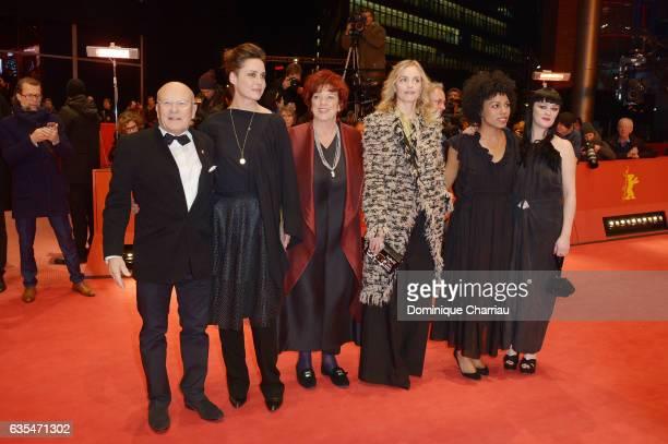 Diirector Volker Schloendorff Susanne Wolff Regina Ziegler Nina Hoss Isi LabordeEdozien and Bronagh Gallagher attend the 'Return to Montauk' premiere...