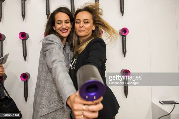 Dijana Savor and Mandy Alex during Vogue American Express Fashion's Night Out 2017 on September 7 2017 in Sydney Australia