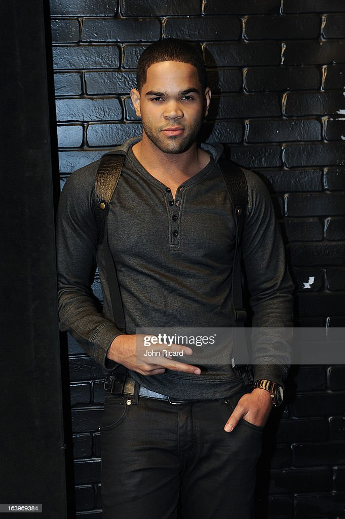 Dijon Talton visits BET's '106 & Park' at BET Studios on March 18, 2013 in New York City.