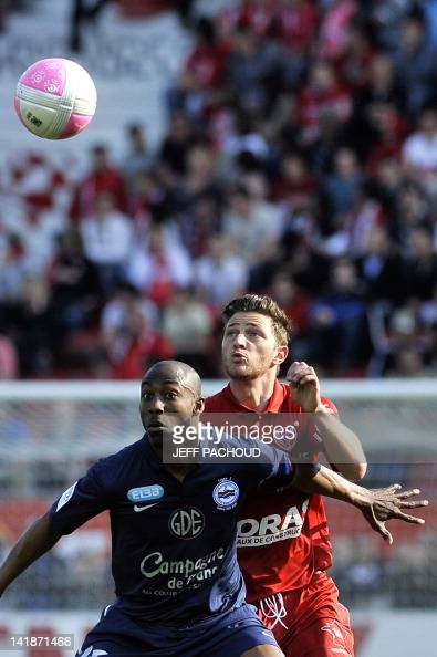 Dijon S French Defender Steven Paulle R Pictures Getty Images