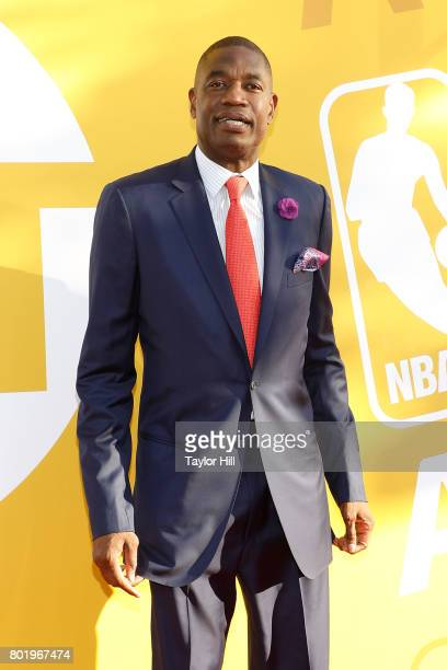 Dikembe Mutombo attends the 2017 NBA Awards at Basketball City Pier 36 South Street on June 26 2017 in New York City
