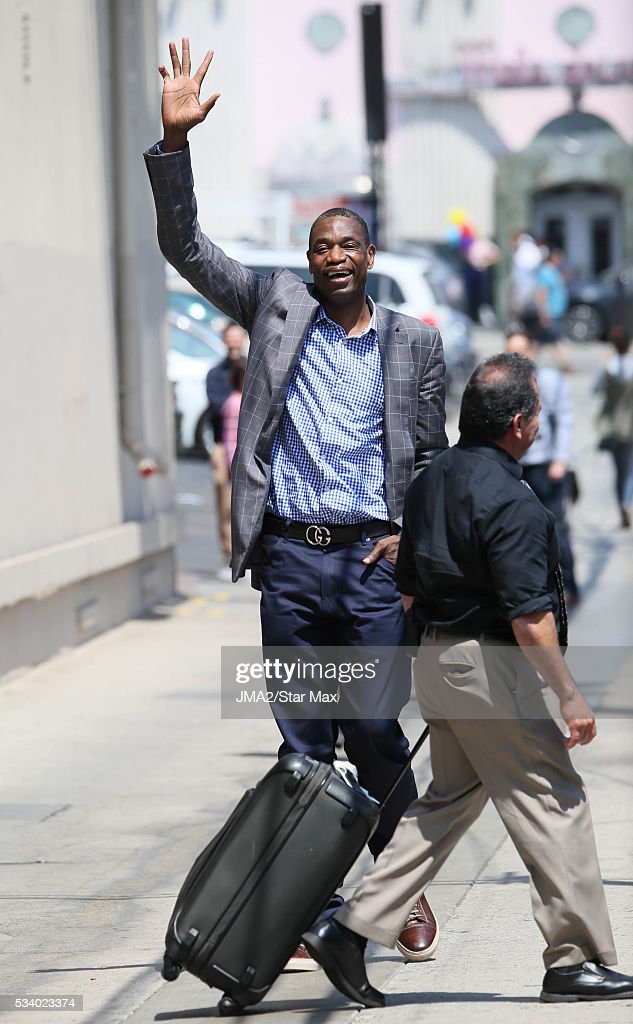 <a gi-track='captionPersonalityLinkClicked' href=/galleries/search?phrase=Dikembe+Mutombo&family=editorial&specificpeople=201659 ng-click='$event.stopPropagation()'>Dikembe Mutombo</a> is seen on May 24, 2016 in Los Angeles, CA.