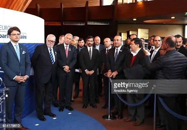 Dileri Bakan Mevlüt Çavuolu Avrupa Konseyi Genel Sekreteri Thorbjorn Jagland ve Avrupa Konseyi Parlamenterler Meclisi Bakan Pedro Agramunt Avrupa...