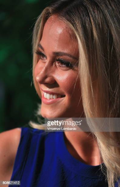 Diletta Leotta attends Bikkembergs European Futsal Tournament on July 4 2017 in Milan Italy
