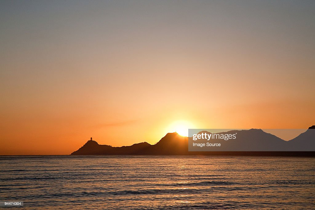 Dili harbor at sunrise