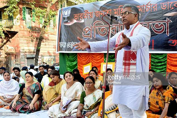 Dilip Ghosh State President of BJP addressing Supporting the efforts for imposition of Uniform Civil Code and agitating over the triple talaq...